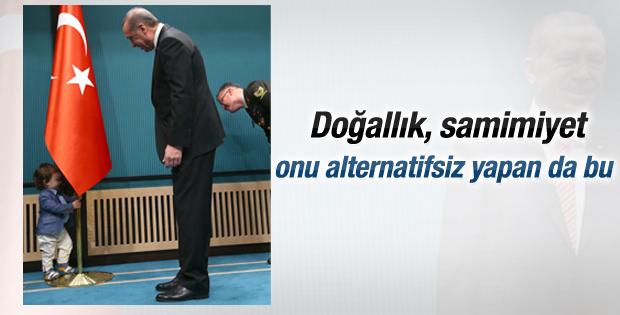 Erdoğan Cumhurbaşkanlığı Sarayı'nda konuştu