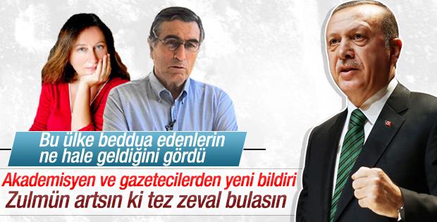 Sözde aydınlardan Erdoğan'a yeni bildiri