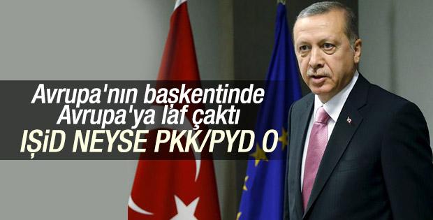 Cumhurbaşkanı Erdoğan: PYD PKK gibi bir terör örgütüdür