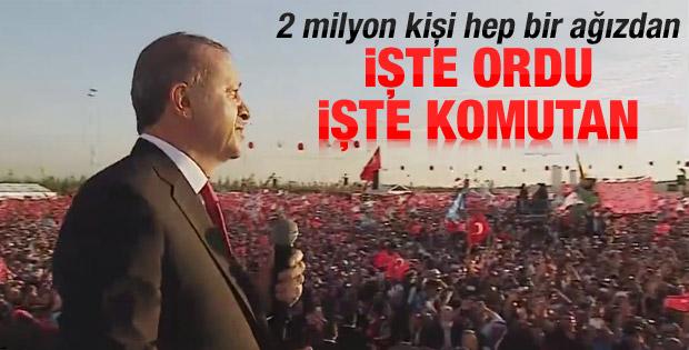 Cumhurbaşkanı Erdoğan'ın İstanbul'un Fethi konuşması