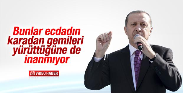 Erdoğan Amerika'nın keşfi iddiasını yineledi İZLE