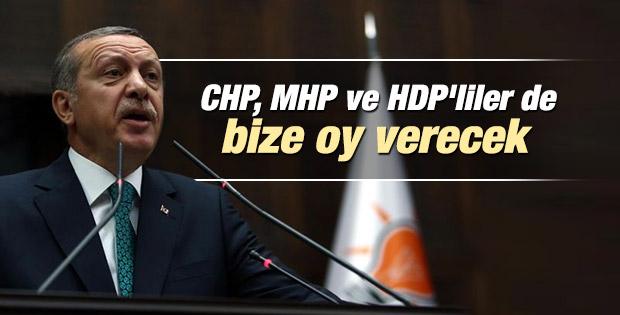 Erdoğan: Seçmenlerini hayal kırıklığına uğrattılar İZLE