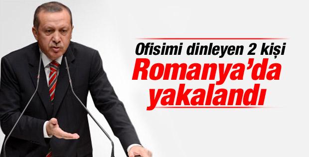 Erdoğan: Ofisimi dinleyen iki kişi Romanya'da yakalandı