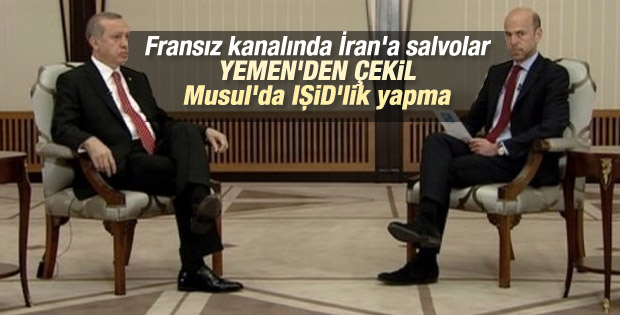 Cumhurbaşkanı Erdoğan France24'e konuştu
