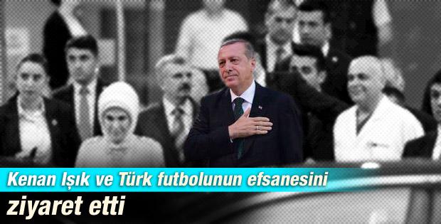 Erdoğan'dan Kenan Işık ve Süleyman Seba'ya ziyaret