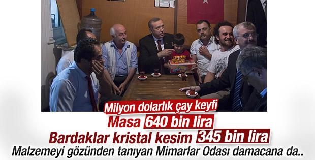 Cumhurbaşkanı Erdoğan taksicileri ziyaret etti