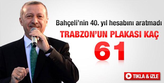 Erdoğan'ın güldüren 61 hesabı