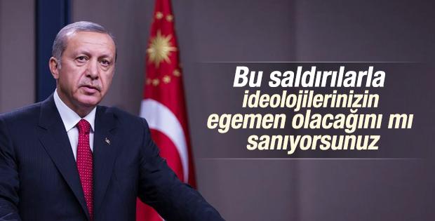 Cumhurbaşkanı Erdoğan Yıldırım Beyazıt'ta İZLE