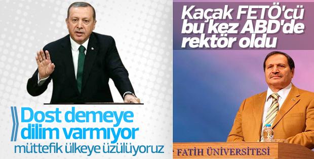 Erdoğan'dan ABD'ye: Dost demeye dilim varmıyor