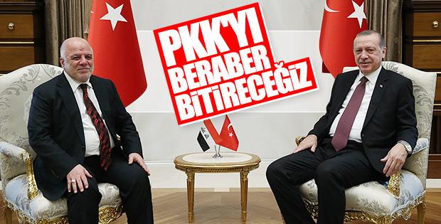 Irak Başbakanı Ankara'da
