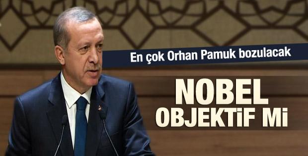 Erdoğan: Nobel'in objektif verilmediğini düşünüyorum İZLE