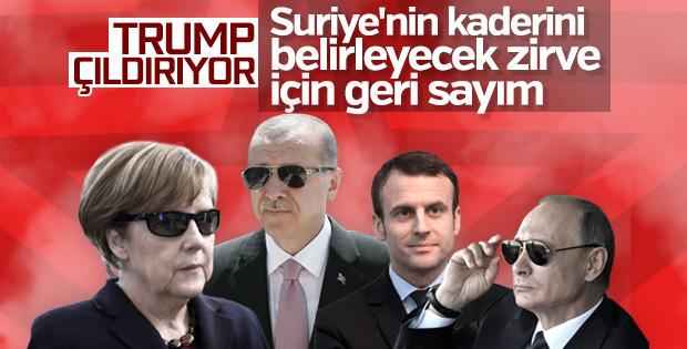Dörtlü İstanbul zirvesi yarın yapılacak
