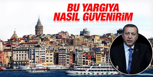 Erdoğan'dan Danıştay'ın Galataport kararına tepki İZLE
