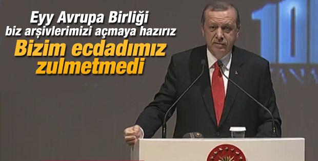 Cumhurbaşkanı Erdoğan Çanakkale 100.Yıl Barış Zirvesi'nde
