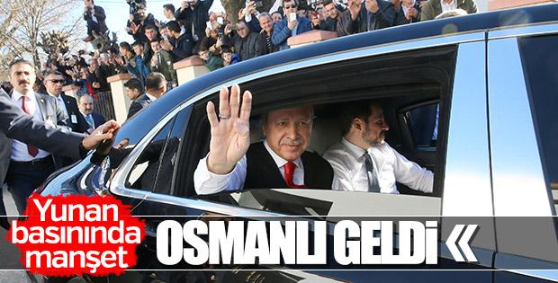 Cumhurbaşkanı Erdoğan Batı Trakya'da