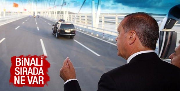 Yavuz Sultan Selim Köprüsü'nden ilk geçiş