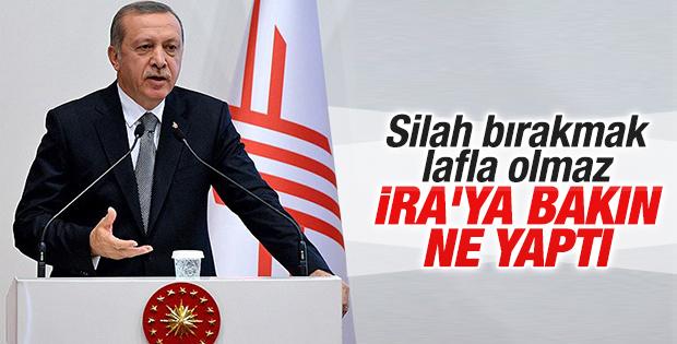 Cumhurbaşkanı Erdoğan'ın YÖK konuşması