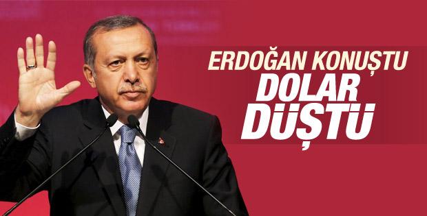 Erdoğan'ın konuşması piyasalara güven verdi