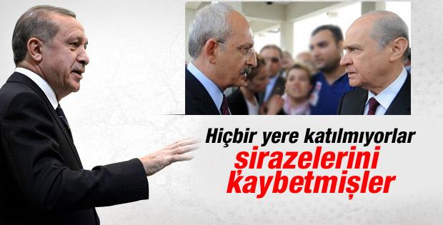 Erdoğan'dan CHP ve MHP'ye tepki