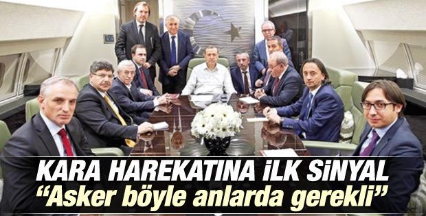 Erdoğan'dan tezkere ve askeri harekat açıklaması