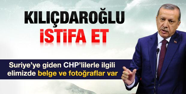 Erdoğan'dan Kılıçdaroğlu'na istifa çağrısı