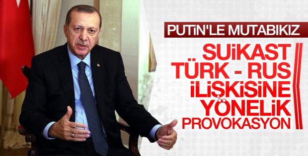 Erdoğan: Suikast, açık bir provokasyon