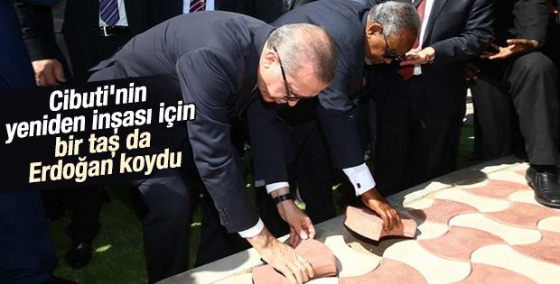 Cumhurbaşkanı Erdoğan Cibuti sokaklarında