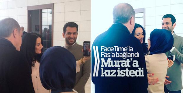 Erdoğan Murat Yıldırım'a Fas'tan kız istedi