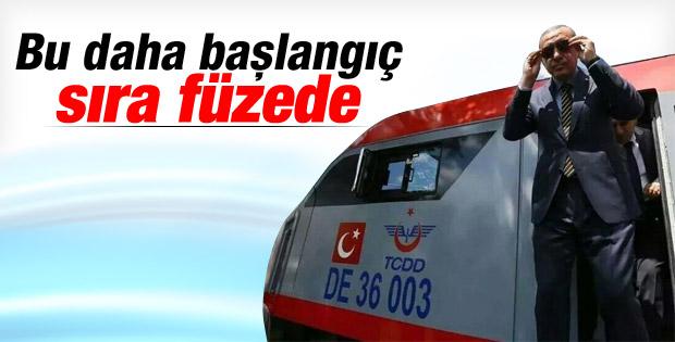 Erdoğan: Sıra füzelerin menzilinde