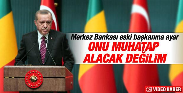 Erdoğan'dan Durmuş Yılmaz'a sert yanıt