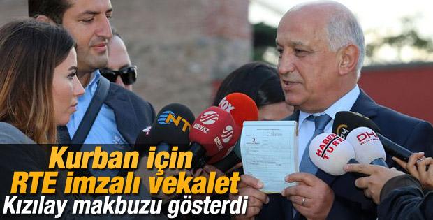 Kızılay Başkanı: Erdoğan kurban vekaletini Kızılay'a verdi
