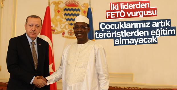 Cumhurbaşkanı Çad'da