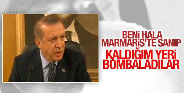 Erdoğan'ın ayrıldığı oteli bombaladılar