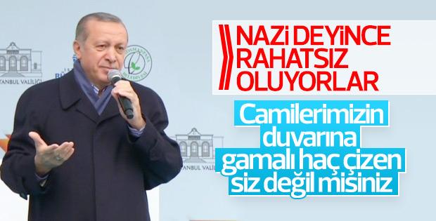 Cumhurbaşkanı Erdoğan Gaziosmanpaşa'da