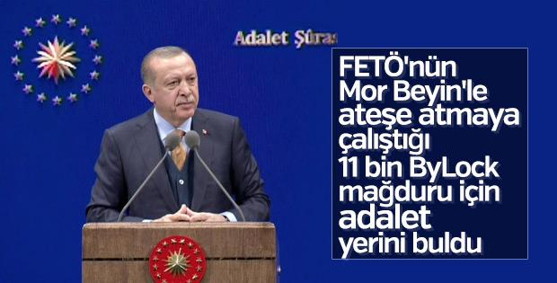 Cumhurbaşkanı Erdoğan Adalet Şurası'nda