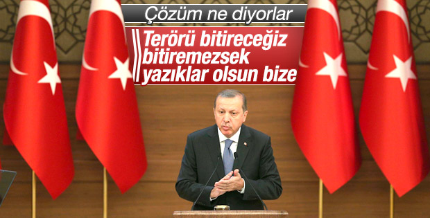 Erdoğan: Şimdi operasyonlar dönemi bu iş bitecek