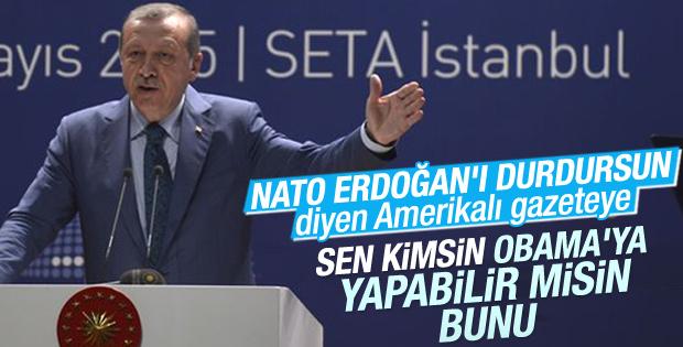 Erdoğan'dan New York Times'a salvolar