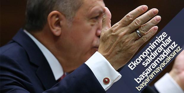 Erdoğan'ın Türkiye ekonomisine güveni tam