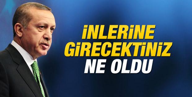 Başbakan Erdoğan: Binlerce dava açacağız