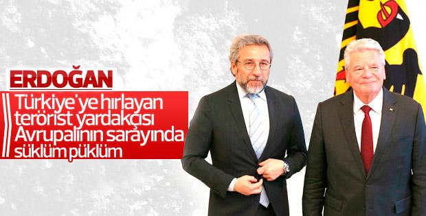 Erdoğan'dan Can Dündar'a sert sözler