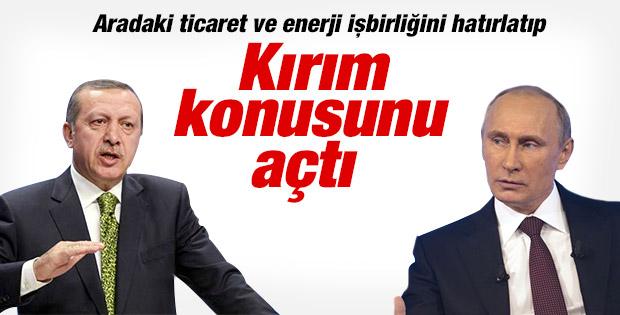 Başbakan Erdoğan Putin ile görüştü