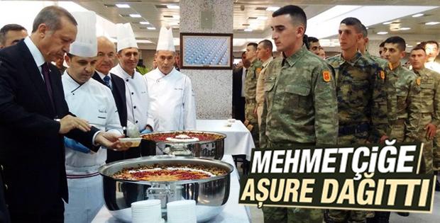 Cumhurbaşkanı Erdoğan'dan Mehmetçiğe aşure