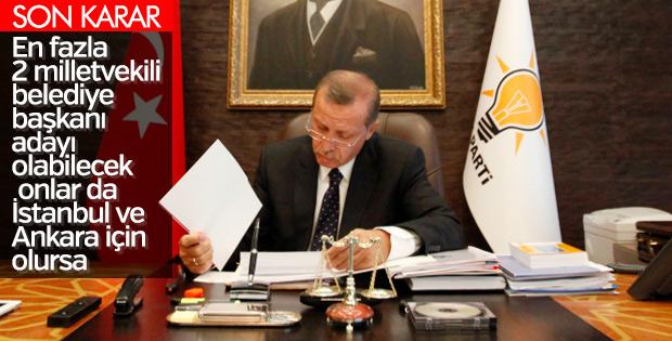 Erdoğan yerel seçimde Meclis kontenjanını belirledi