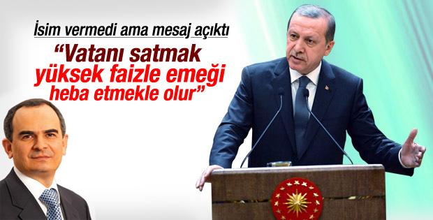 Cumhurbaşkanı Erdoğan'dan Erdem Başçı'ya sert sözler