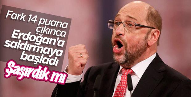Martin Schulz'un hedefinde Recep Tayyip Erdoğan var
