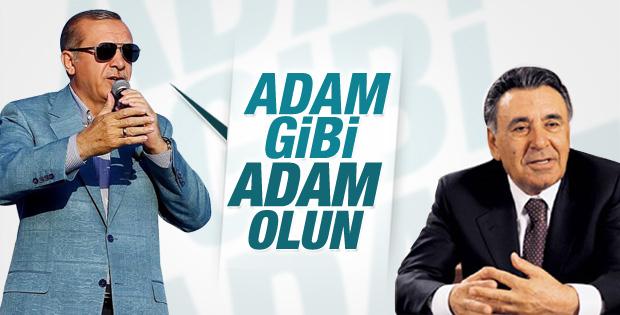 Cumhurbaşkanı Erdoğan'ın Nevşehir konuşması