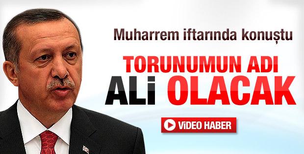 Erdoğan doğacak torununun ismini açıkladı