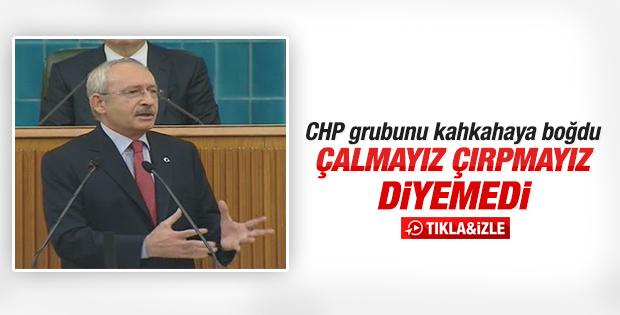 Kemal Kılıçdaroğlu çalmayız çırpmayız diyemedi
