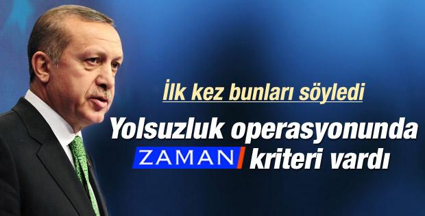 Erdoğan: Zaman'a abone olmayanı fezlekeye aldılar İZLE