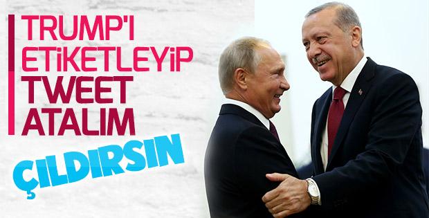 Erdoğan ve Putin Tahran'da buluştu